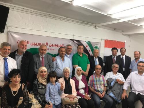 ملتقى العروبيين السوريين الثالث في مدينة بارس  فرنسا 2019